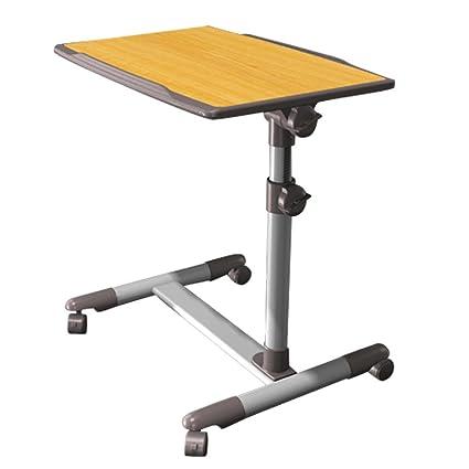 Altura e inclinación ajustable oficina en casa escritorio | para ordenador portátil | carrito de mesa
