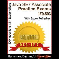 OCAJP Oracle Certified Associate Java SE 7 Programmer Practice Exams