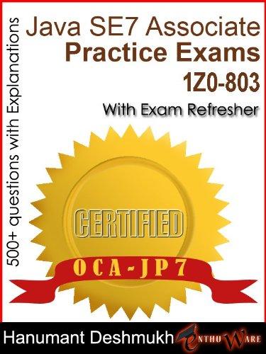 Download OCAJP Oracle Certified Associate Java SE 7 Programmer Practice Exams Pdf