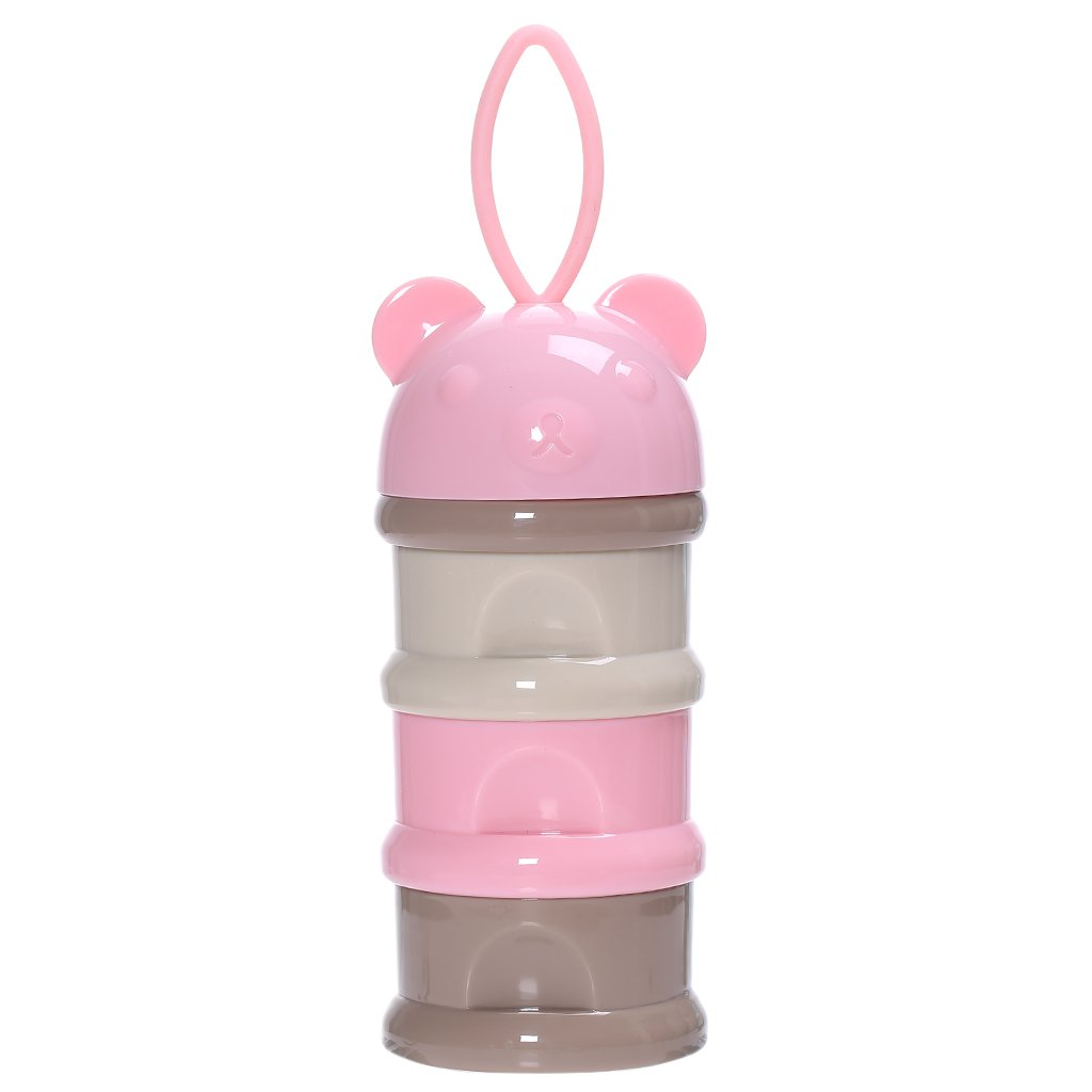 Jili Online 1/2Pieces Stackable Portable BPA Free Baby Milk Powder Dispenser Food Storage Feeding Box - 1piece blue, 24x7.7x7.7cm