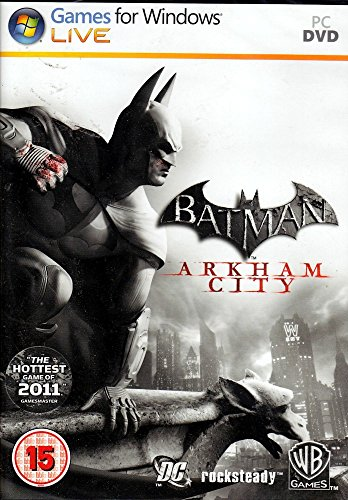 Batman: Arkham City - Action Video Game, PC (Computer Games Action)