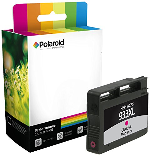 Polaroid Professional H-055A-PRO Remanufactured Inkjet Cartridge Replacement for HP 933XL (CN055A), Magenta Ink (Epson Replacement Polaroid Ink Cartridge)