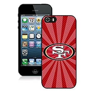 NFL San Francisco 4 ers iphone 5 5S Casecell phone cases&Gift Holiday&Christmas Gifts NFIU8716299