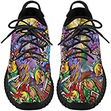 The Legend of Zelda Men's Breathable Woven Fashion Running Shoes (Angelinan Custom)