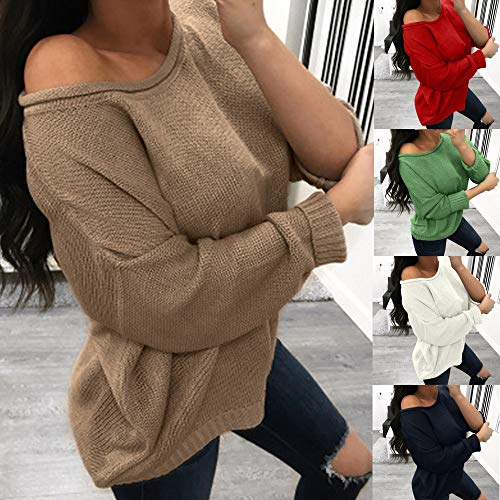 Hiver Chaud Blouse Loose Pull Pullover Automne Taille de Grande Femme Longues Tops Shirt Chemisier Sweat Manteau Casual Manches Solike Tricots Vert Sport Sweats Zzqtv4zw