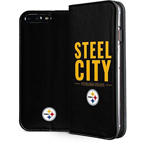 more photos 89ea1 d33e0 Amazon.com: Skinit NFL Pittsburgh Steelers iPhone 8 Plus Folio Case ...