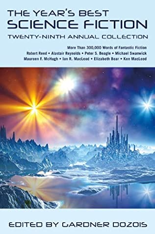 book cover of The Year\'s Best Science Fiction: Twenty-Ninth Annual Collection
