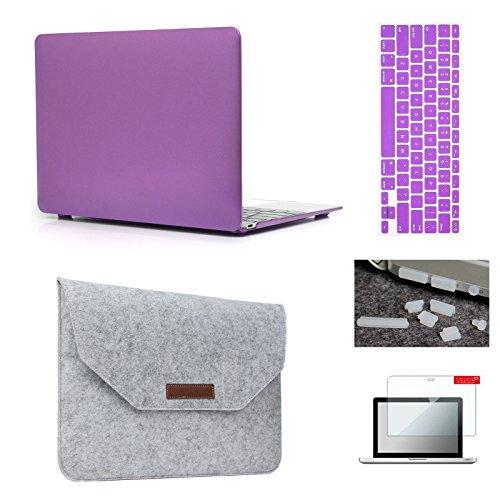 Purple Hardshell Case (MacBook 12