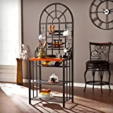 Southern Enterprises Baker's Rack With Wine Storage