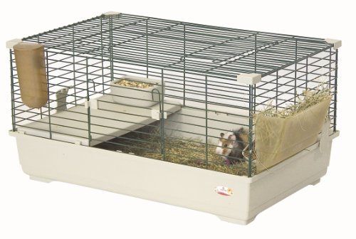 Marchioro Tommy C 82 Cage for Small Animals, 32.25 inches, Beige/Green