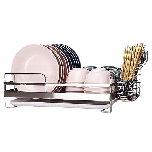 & escurreplatos de cocina Estante de la cocina Hogar Acero ...
