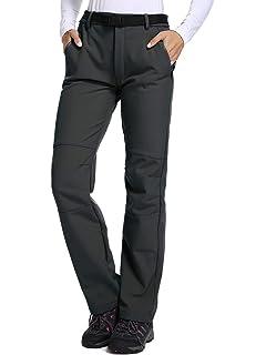 86306238094 Jessie Kidden Women s Outdoor Fleece-Lined Soft Shell Hiking Trousers  Fishing ski Pants Insulated Water