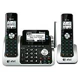 ATandT TL96271 dect_6.0 2-Handset Link to Cell Landline Telephone, Office Central
