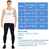 Mens Compression Shirt to Hide Gynecomastia Moobs