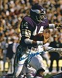 Autographed Chuck Foreman 8x10 Minnesota Vikings Photo