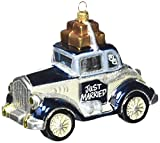 Kurt Adler Polonaise Just Married Rolls Royce Ornament