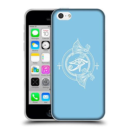 GoGoMobile Coque de Protection TPU Silicone Case pour // Q09790609 Religion 19 Bébé bleu // Apple iPhone 5C