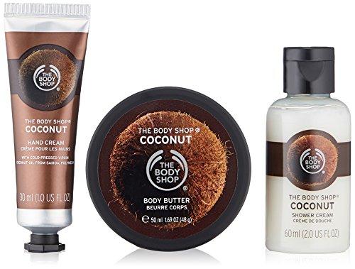 The Body Shop Coconut Beauty Bag (Coconut Body Butter)