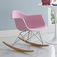 Modway Rocker Kids Chair, Pink