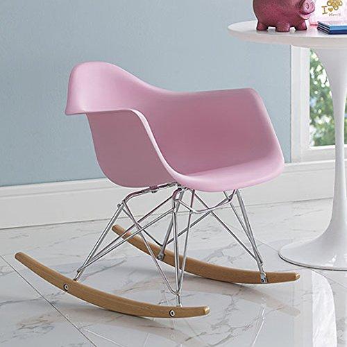 Modway Rocker Kids Chair, Pink