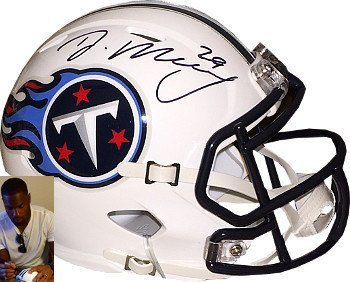 DeMarco Murray Signed Autograph Tennessee Titans Riddell Speed Mini Helmet #29- Murray Hologram ()