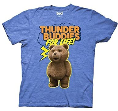 Ted Thunder Buddies For Life Adult T-shirt L