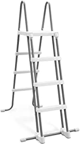 Intex Deluxe Pool Ladder with Removable Steps for 48-Inch Wall Height Above Ground Pools