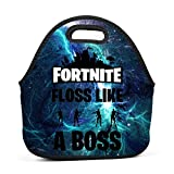 Ryaody Lunch Tote Fortnite Floss Like A Boss Dancing Lunch Bag Adult Kids - Idea Beach, Picnics, Road Trip, Meal Prep,Daily, Lunch to Work School
