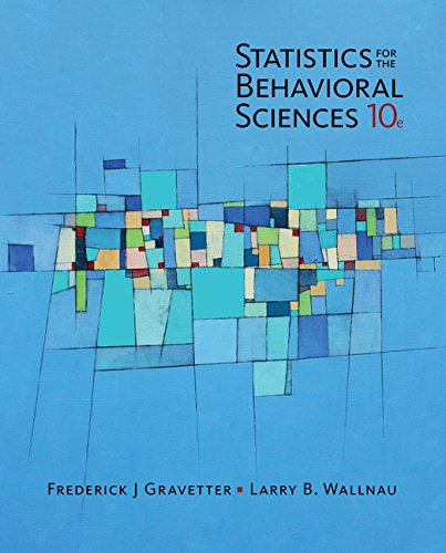 Statistics for The Behavioral Sciences (MindTap for Psychology)