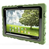Gumdrop Cases Drop Tech Series Military Edition Case for Asus EEE Pad Transformer TF101, Army Green (DT-ASUS-GRN)