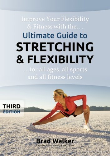 Ultimate Stretching Flexibility Handbook Spiral bound product image