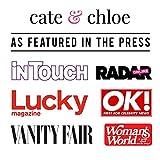 Cate & Chloe Celeste 18k White Gold Ring with