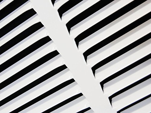 25''w X 16''h Steel Return Air Grilles - Sidewall and Cieling - HVAC DUCT COVER - White [Outer Dimensions: 26.75''w X 17.75''h] by HVAC Premium (Image #6)