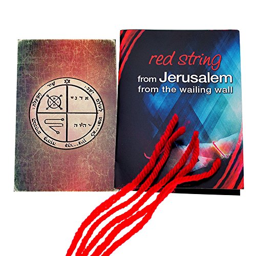 5 Red String Bracelets blessed in Jerusalem with King for sale  Delivered anywhere in USA