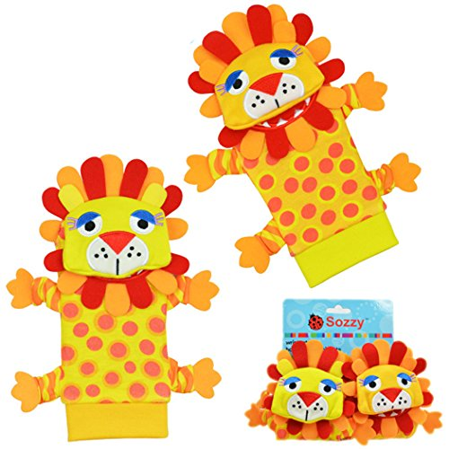baby-wrist-and-sock-rattles-wrist-rattles-and-foot-finders-lion-4-pc