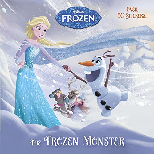 The Frozen Monster (Disney Frozen) (Pictureback(R))