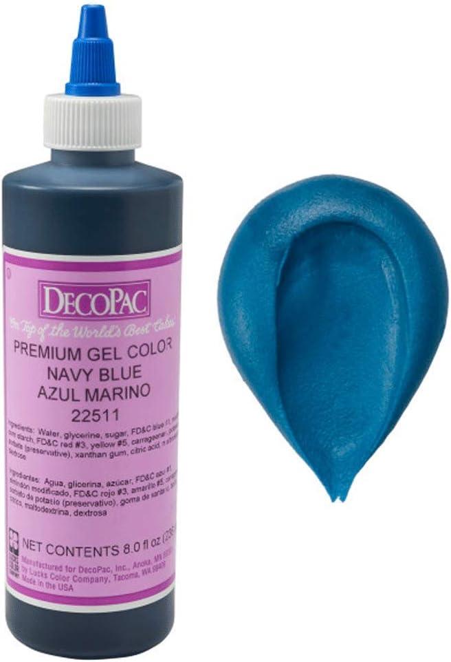 Navy Blue Premium Gel Color - 8 fl oz