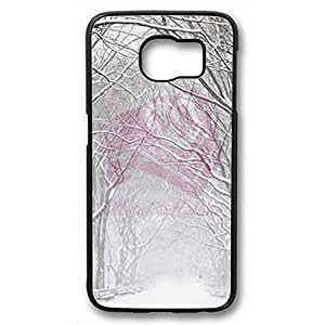 iCustomonline Winter Street Case For Samsung Galaxy S6 PC Black