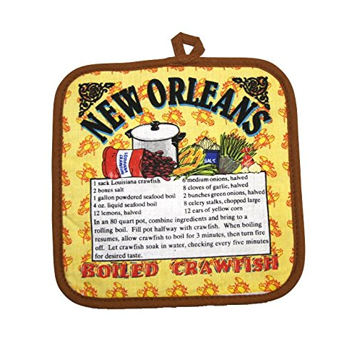 New Orleans Boiled Crawfish Recipe Pot Holder