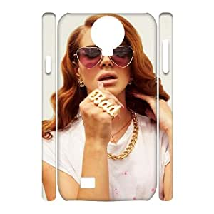 Chinese Lana Del Rey Personalized 3D Cover Case for SamSung Galaxy S4 I9500,custom Chinese Lana Del Rey Case