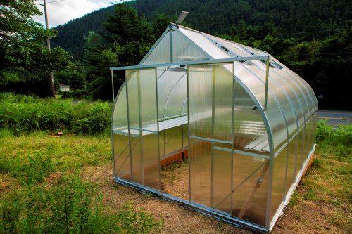 9x14 6-MM Twin-wall Polycarbonate Greenhouse, ClimaPod Virtue UPGRADED Kit by Climapod