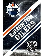 Edmonton Oilers : Edmonton Oilers Notebook Weekly Planner | NHL Notebook Fan Essential NFL , NBA , MLB , NHL , NCAA #20