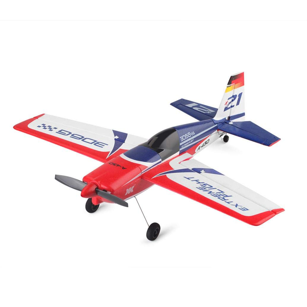 Jeeke RC Airplane Brushless Motor RC Glider XK A430 2.4G 5CH 3D6G System Compatible with FUTABA S-FHSS (White, 43×40×11.3cm/16.9×15.7×4.4in)-Shipping from USA by Jeeke (Image #9)