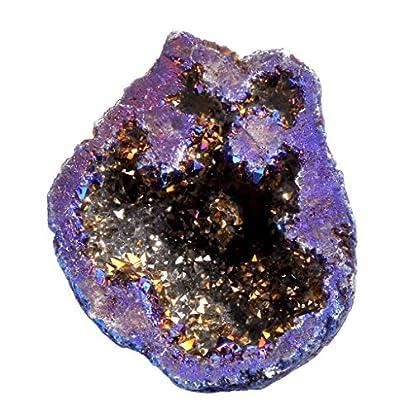 titanium coated crystal quartz