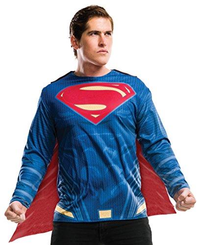 Rubie's Men's Superman Adult Costume Top, As Shown, Standard