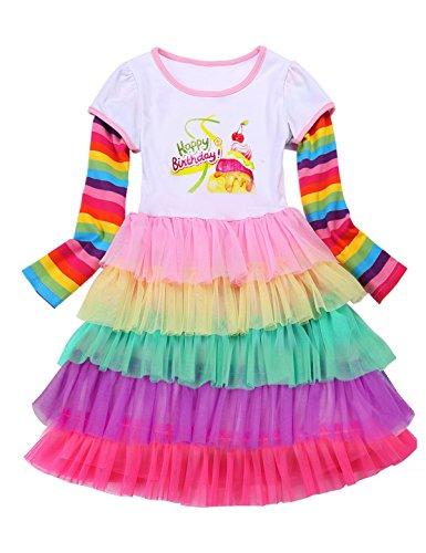 PrinceSasa Matching Girls Outfits Sisters, BirthdayCake2,3-4...