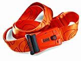 Samsonite Luggage Travel Sentry 3 Dial Combination Strap, Juicy Orange, One Size