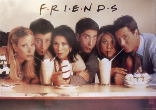 Friends - TV Poster: Milkshakes