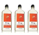 Bath & Body Works Aromatherapy Energy – Orange + Ginger Body Wash & Foam Bath, 10 Fl Oz, 3-Pack