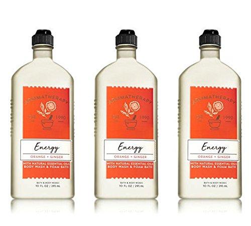 Bath & Body Works Aromatherapy Energy - Orange + Ginger Body Wash & Foam Bath, 10 Fl Oz, ()